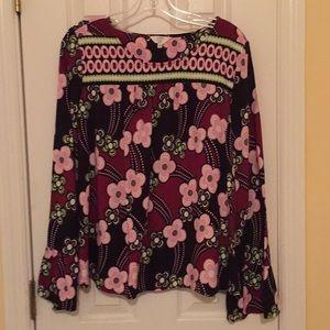 Flowery tunic